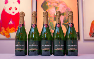 Sotheby's sparkling wine reception