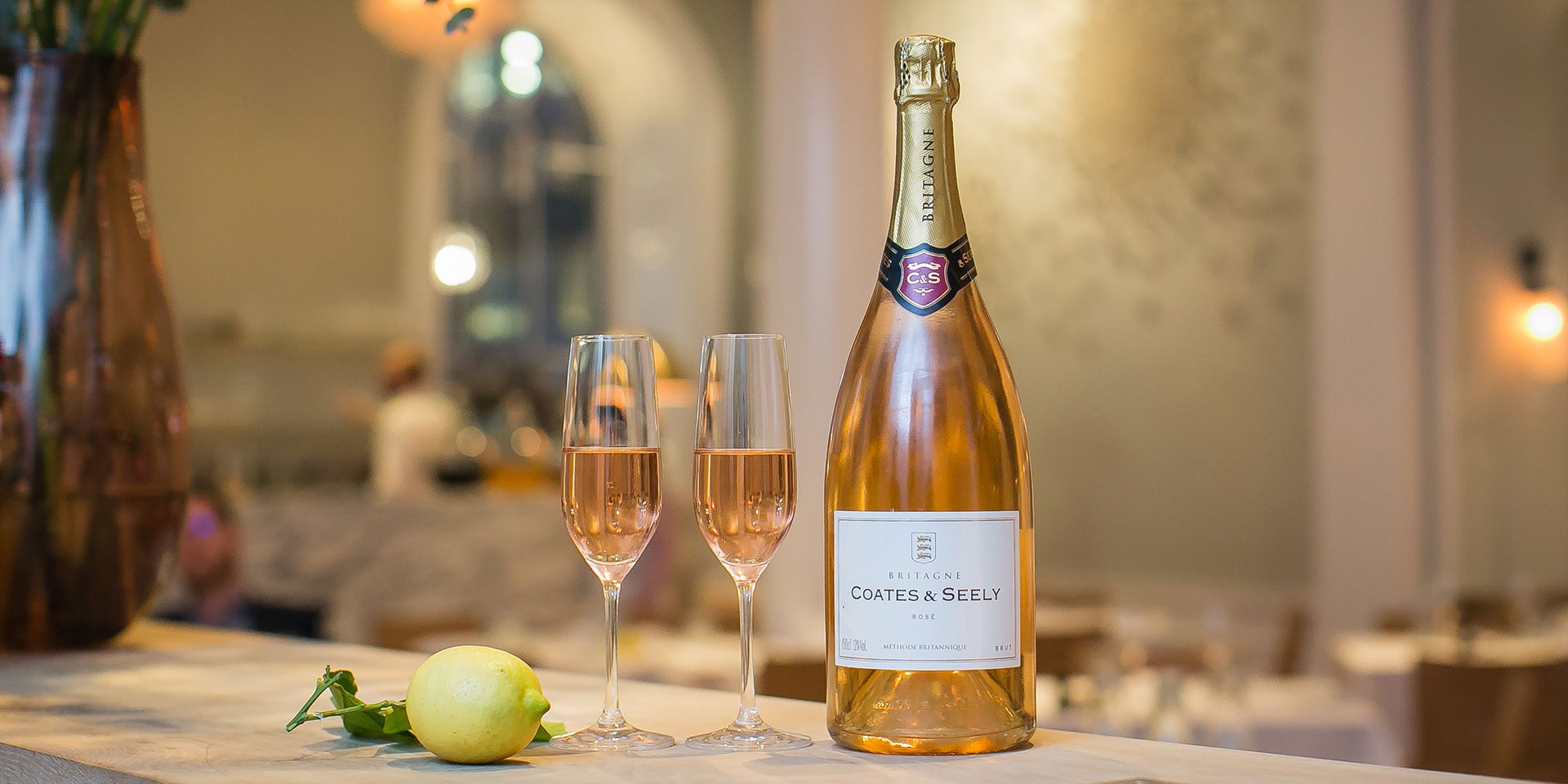 Luxury English Sparkling Rosé