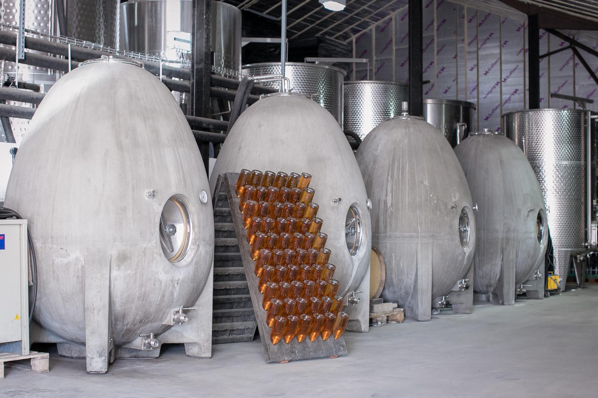 Concrete Fermentation Eggs