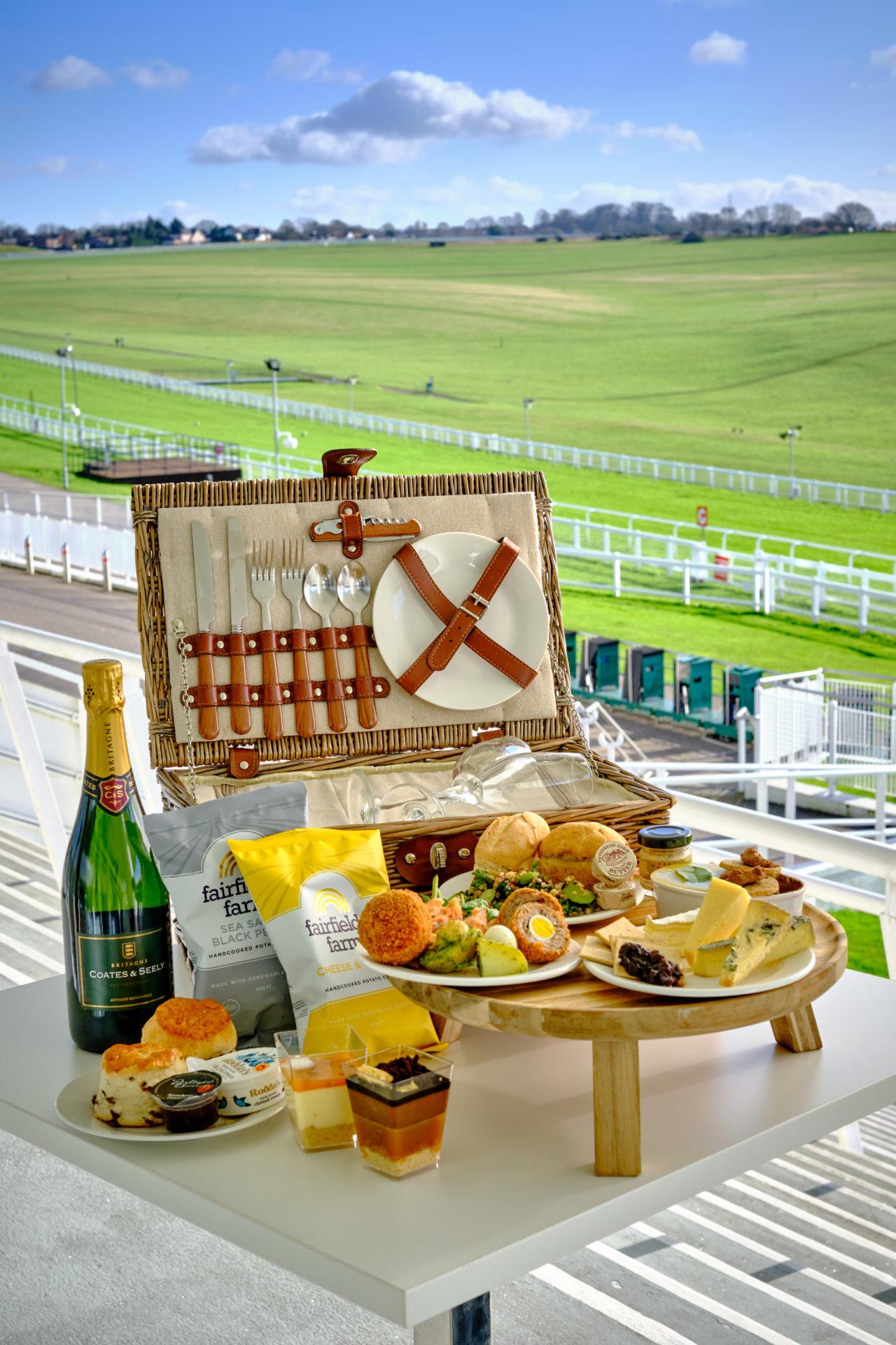 The perfect Great British picnic hamper