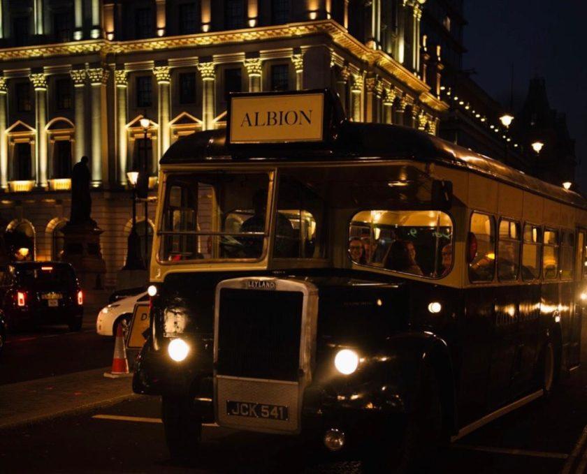 Coates & Seely's 'Albion' - 1954 British Leyland coach