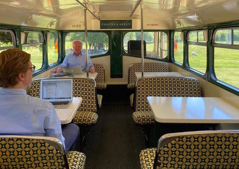 The Coates & Seely home office - Albion, the 1954 British Leyland coach